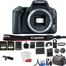 Canon EOS Rebel SL2 Camera (Body Only)(Kit Box) - Kit with 2x 64GB Card