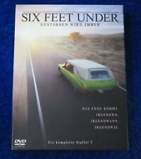 Six feet under gestorben wird immer Die komplette Staffel 5, DVD Box Season