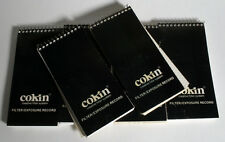 COKIN FILTER/EXPOSURE RECORD BOOKLET SET OF 6