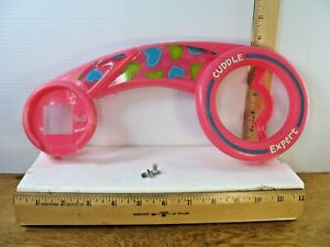 """Plastic Bicycle Chain Guard from a 12"""" Huffy Disney Doc McStuffins Girls Bicycle"""