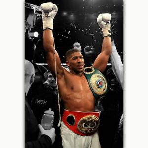 ANTHONY JOSHUA Klitschko Boxing Boxer Sport Star Poster 21 24x36 E-1205