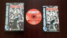 Resident Evil ( Sega Saturn ) European Version Pal