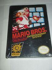 Super Mario Bros. 1 (Nintendo Entertainment System NES, 1985) NEW Factory Sealed