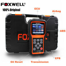 Foxwell NT414 Engine ABS SRS EPB Oil Reset Transmission OBD2 Diagnostic Scanners