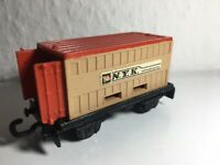 Matchbox Eisenbahn Railway Rail Train Zug Nr.25 flat car mit Container Anhänger