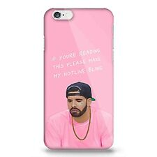 Drake High Quality Hotline Bling Crying Silicone Rubber Case for iPhone 6 Plus