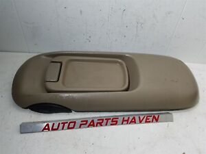 GM Trucks OBS Floor Center Console Lid Cover Arm Rest Light Tan OEM Latch Tray