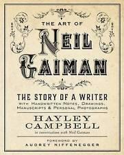 Art Neil Gaiman Story Writer Handwritten Notes by Campbell Hayley -Paperback