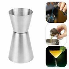 Useful Measure Cup Jigger Single Double Shot Short Drink Spirit Cocktail Party