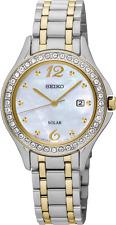 Seiko SUT312 SUT312P9 Ladies Solar Watch NEW Swarovski crystals RRP $550.00