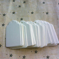 100pcs Blank Kraft Paper Hang Tags Wedding Party Favor Label Price Gift Cards FH