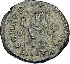 GRATIAN Original 378AD Antioch Authentic Ancient Roman Coin Rome as Roma i65887