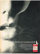 PUBLICITE ADVERTISING 095  1967  WINSTON   cigarettes