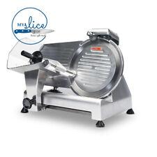 Linkrich 250mm Semi-Automatic Meat Slicer - Butcher / Chef / Deli / Restaurant