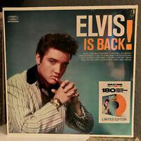"""ELVIS PRESLEY - Elvis Is Back! (180G Colored Vinyl) 12"""" Vinyl Record LP - SEALED"""