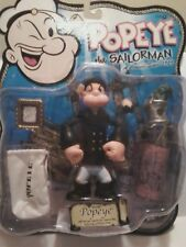 POPEYE THE SAILOR SERIES BY MEZCO - ACTION FIGURE (FREE CARTOON DVD)