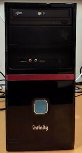 Refurbished Tower. AMD Athlon II X2 260 3.2GHz. 4GB RAM. 1 TB HDD. Win 10 Home