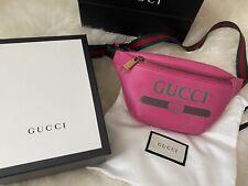Gucci Cinturón Bolsa Mochila Riñonera Cintura Bolso Rosado Nuevo Agotado