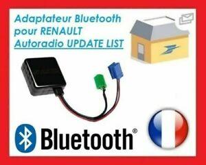 Cable BLUETOOTH adaptateur Renault Megane 2 Scenic 2 Clio Master Laguna Modus