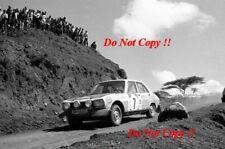 Ove Andersson & Jean Todt Peugeot 504 Ti Safari Rally 1973 Photograph 1