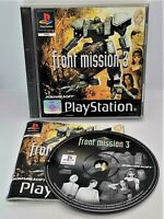 Front Mission 3 Video Game for Sony PlayStation PS1 PAL TESTED