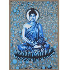 BUDDHA WALL HANGING TAPESTRY INDIAN DECOR COTTON THROW YOGA HOME MEDITATION USA