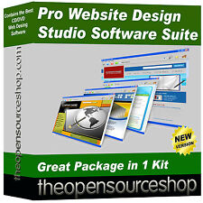 Pro Web Designer Software Pack – Create & Edit Your Own Website & Webpages
