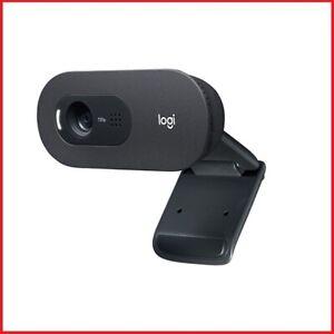 webcam LOGITECH HD con microfono per pc mac web cam camera usb windows notebook