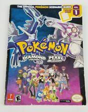 Pokemon Diamond and Pearl Vol 1 Prima Strategy Guide Book Nintendo DS USA Seller