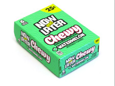 Now & Later soft Chews Candy, Watermelon, 0.93 Ounce Bar, Pack of 24