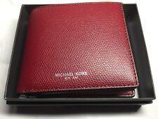 minorista online eb496 36ffb Carteras para hombres Michael Kors Rojo | eBay