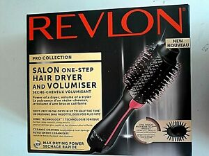 Revlon Haartrockner RVDR5222E, 800 W, Salon One-Step Hair Dryer & Volumiser