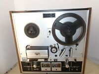 Akai GX-220D Reel To Reel Stereo Tape Deck For Parts (please read)
