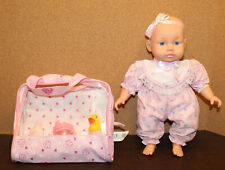 🍼2013 You and Me Baby Doll She Laughs, Cries & Makes Baby Sounds TOYS R Us
