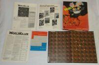 VINTAGE 1980 ARES WORLDKILLER GAME PLANETARY NR 1 SPI DRAGON UNPUNCHED RARE >>