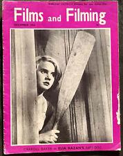 Films And Filming Movie Magazine, December 1956, Carroll Baker #B582