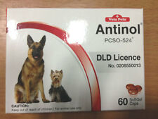 3 Vetz Petz Antinol 100% Natural Dog Supplement Relief Pain of Joint & Arthritis