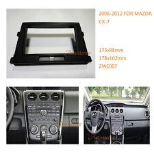 Double Din Car Radio fascia Facia Panel Adapter for MAZDA CX-7 2006-2012