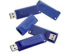Verbatim 8GB USB Flash Drive (Blue, 5-Pack) Model 99121