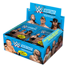 2015 TOPPS WWE HERITAGE RETAIL BOX