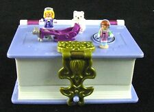 1995 Polly Pocket Bluebird Sparkle Snowland Storybook 100% Complete
