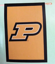 "Purdue University Banner House Flag 28 x 44"""