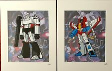 Transformers - Decepticons Collection - Hand Drawn & Hand Painted Cel