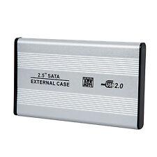 "2.5"" USB 2.0 SATA Hard Drive HDD Case Enclosure"