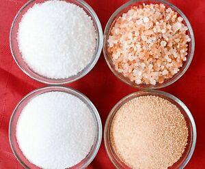 Himalayan Pink Sea Salt Fine & Coarse Grain 5g - 100Lbs Bulk Food & Bath Grade