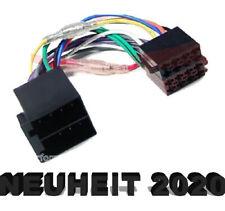 Radio Adapter Kabel ISO Stecker Mercedes Benz Smart Peugeot Renault Citroen Fiat
