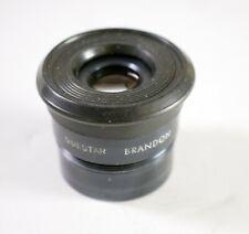 "Brandon Questar 12mm 1.25"" Eyepiece with Rubber Eyecup Vintage"
