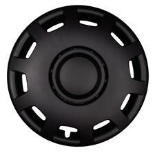 4x Premium Diseño Tapacubos rueda Cubierta 14 pulgadas negro mate