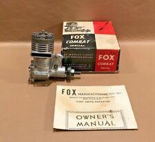 Nice Fox .35 Blackhead Combat Special Control Line Model Airplane Engine