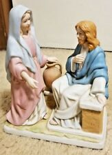 Homco Living Water 1994 Porcelain Figurine #8816 The Greatest Stories Ever Told